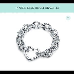 Tiffany & Co Open Heart Clasp Bracelet